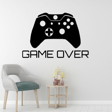 DIY Art game over Wall Sticker Home Decoration Accessories Removable Wallpaper