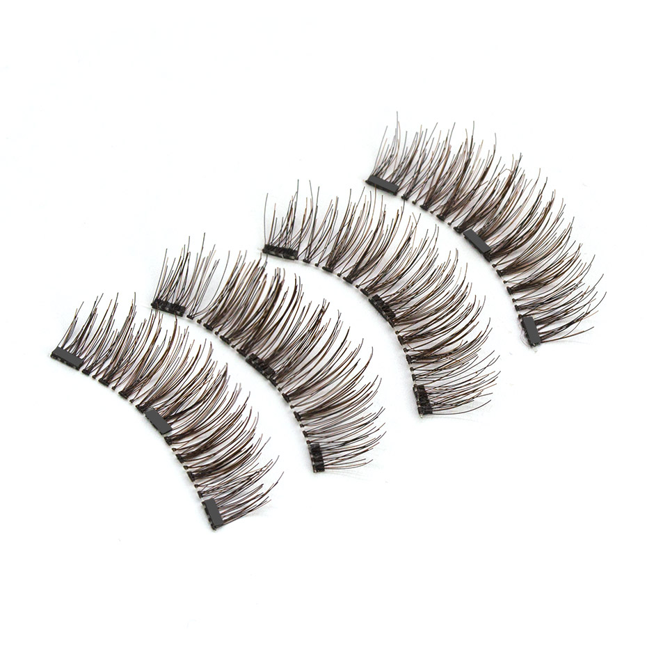 Genailish-Magnetic-eyelash-with-3-magnets-natural-HandMade-Full-Strip-false-Lashes-cilios-with-applicator-maquillage (1)