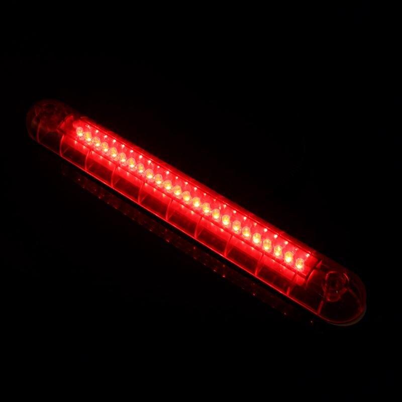 24 LED 12V Car High Mount Third 3RD Brake Stop Tail Light Lamp Red