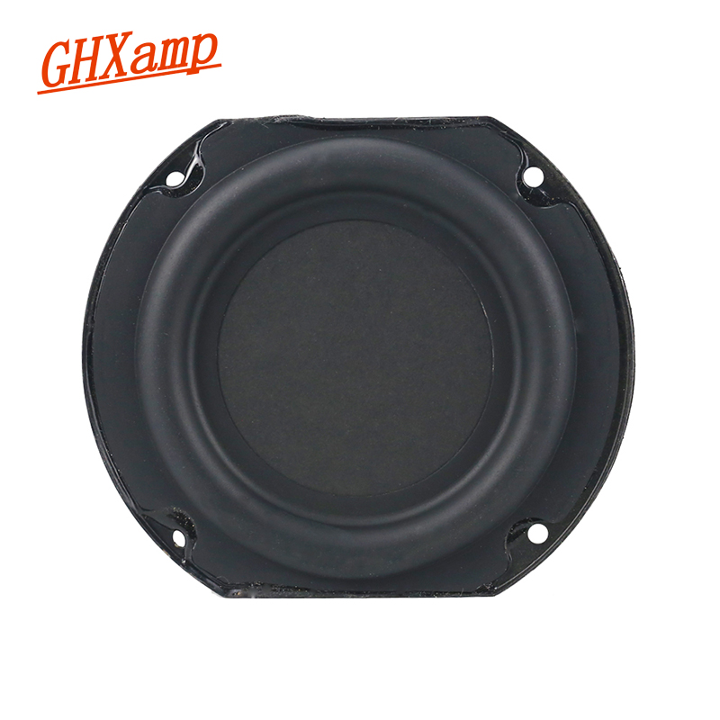 GHXAMP 4 Inch Subwoofer speaker units 4ohm 30W Bass Woofer loudspeaker Home theater Computer speakers 1pc audio loudspeaker 40w woofer speaker double magnetic speaker 4 5 inch 4 ohms subwoofer bass speaker for diy speakers