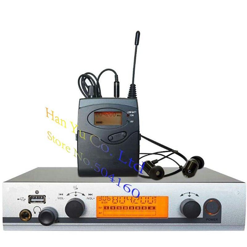 Top Kwaliteit! In ear monitor systeem Persoonlijke Monitoring Systeem, Wireless in ear Monitor Professionele voor Stage Performance Kerk-in Microfoons van Consumentenelektronica op  Groep 1