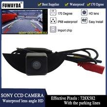 FUWAYDA CCD Vehicle logo Front view font b camera b font for Nissan X Trail Tiida