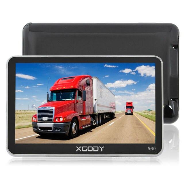 XGODY 5 Polegada Truck Car GPS Navigation 128 M ROM 8 GB de RAM MTK FM SAT NAV Navigator 2016 Europa Do Norte/Sombrinha Mapas da América Do Sul