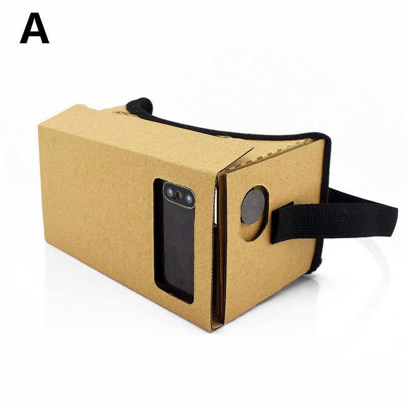 3D DATA FROG iPhone Movies Virtual Box Headset 6 VR 7 Cardboard Xiaomi for Google 5 SmartPhones Glasses Reality 4
