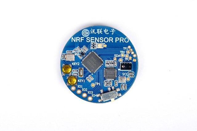 Bluetooth 4.0 capteur de pression de température capteur daccélération Gyroscope environnement lumière BMP280 nRF51822 Bluetooth 4.0BLE SOC