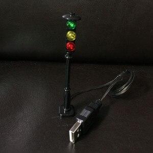 Image 4 - LED straße ampel licht für lego city serie Ziegel/block set Modell