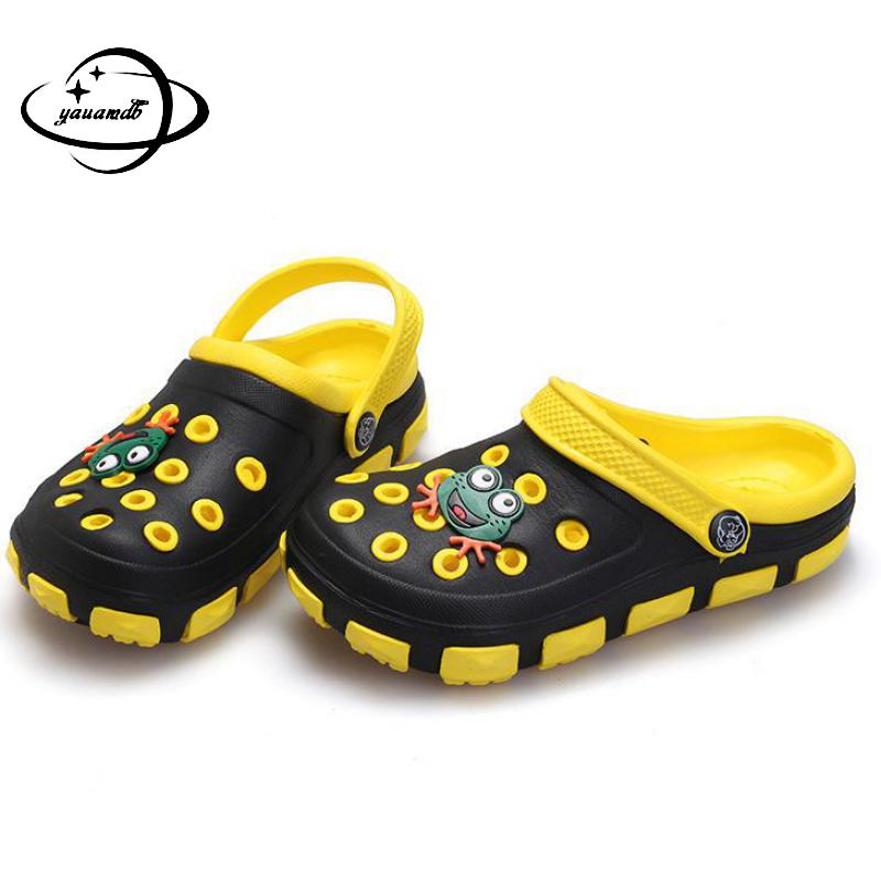 children shoes children girls and boys hollow garden shoes summer kids breathable Eva Wear-resisting Beach Non Slip Shoes  18