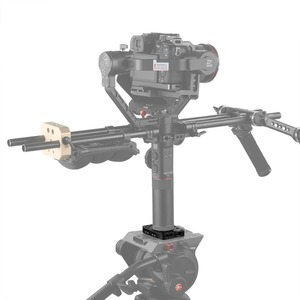 Image 5 - SmallRig מוט מהדק עבור Zhiyun Crane2/מנוף V2 עם 1/4  20 הליכי חורים Arri 3/8 נקודות מהיר שחרור מוט מהדק 2119