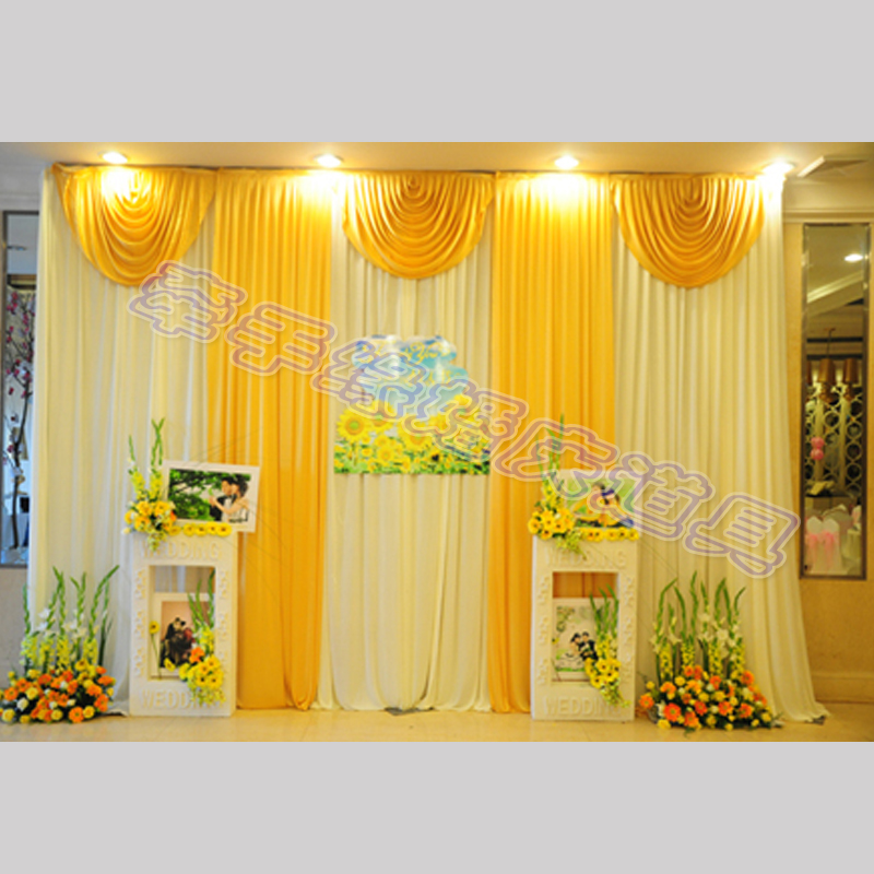 Wedding Decorative Fabric Drape 3 3 M Wedding Decorative