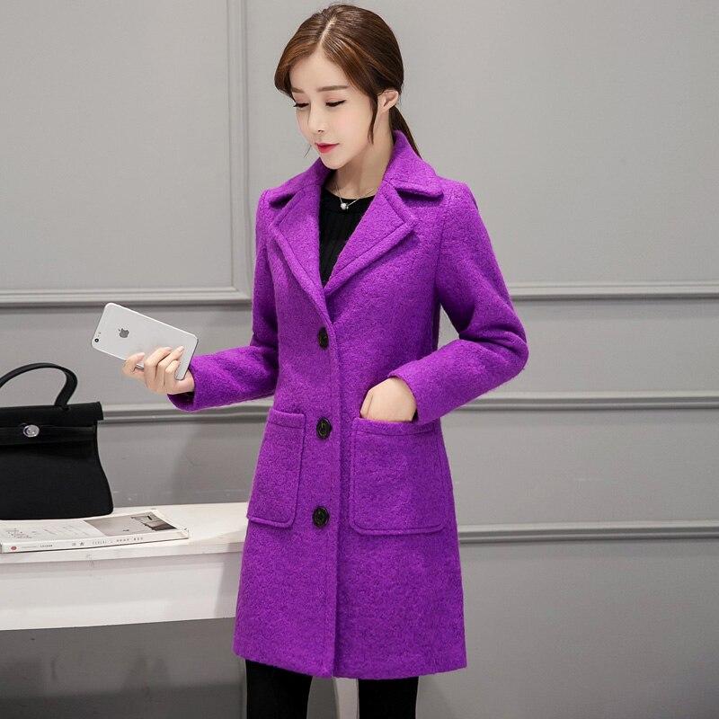 Gray Laine Long Manteau Nouvelles Revers Mode De 2018 Grande Taille purple Chaud Moyen Veste red Tnlnzhyne38 Femmes pink D'hiver Survêtement aIfSq