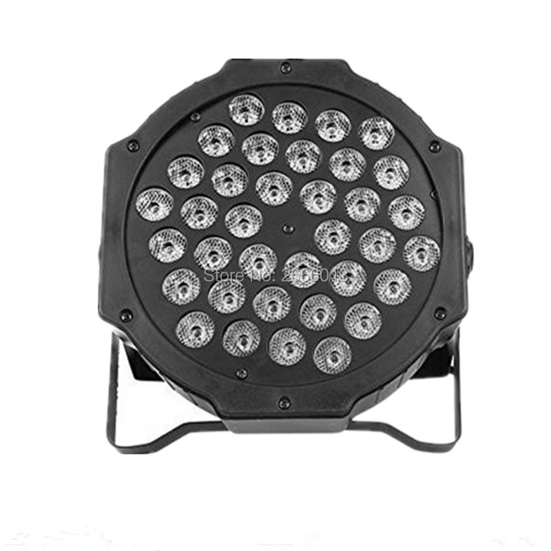 Professional LED Stage Lights 36x3w RGB PAR LED DMX Stage Lighting Effect DMX512 Master-Slave Led Flat for DJ Disco Party KTV owlcat indoor bullet cctv camera guard wall mount plastic housing shield with bracket for video surveillance security cameras