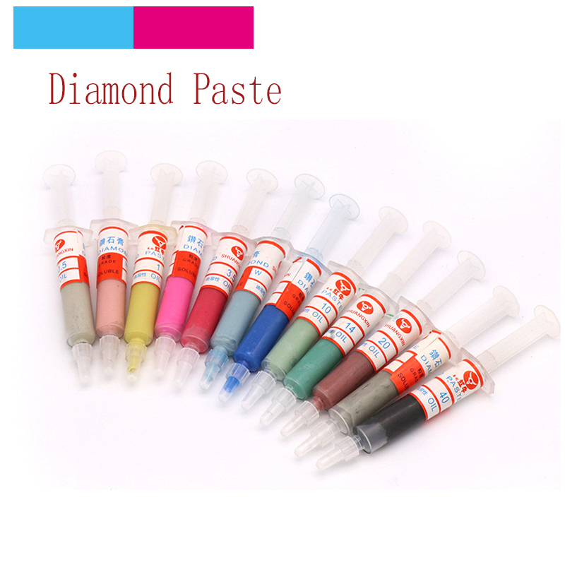 1pcs W0.5-W40 Diamond Abrasive Paste Needle Tube Grinding Polishing Paste Lapping Compound T
