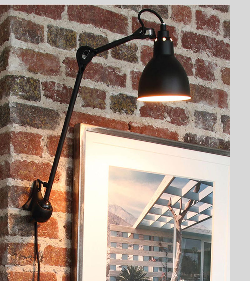 Loft adjustable modern industrial swing arm led sconce wall lamp for bedroom sitting room Bedside Reading Light multiple colour nordic loft creative loft milan industrial style modern bedroom study long arm living room villa copper bronze wall sconce lamp