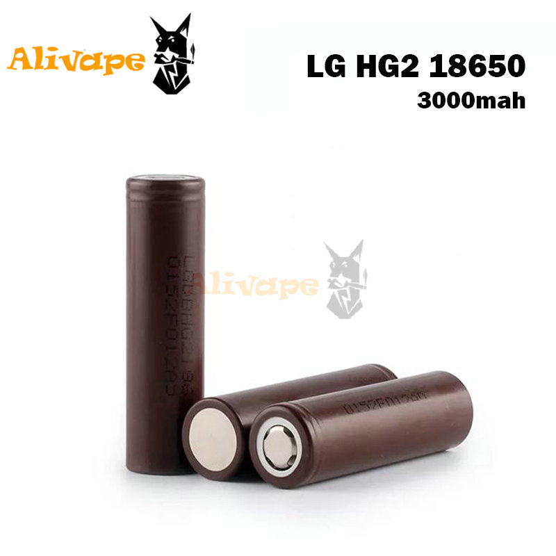 LG HG2 3 6V 18650 battery 3000mAh Li ion Rechargeable Battery fit for font b electronic