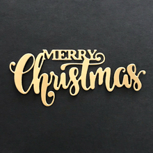 MERRY Christmas Dies Cut Word Metal Cutting Dies New 2018 Christmas Stamps and Dies for Card Making Craft Dies Scrapbooking(China)
