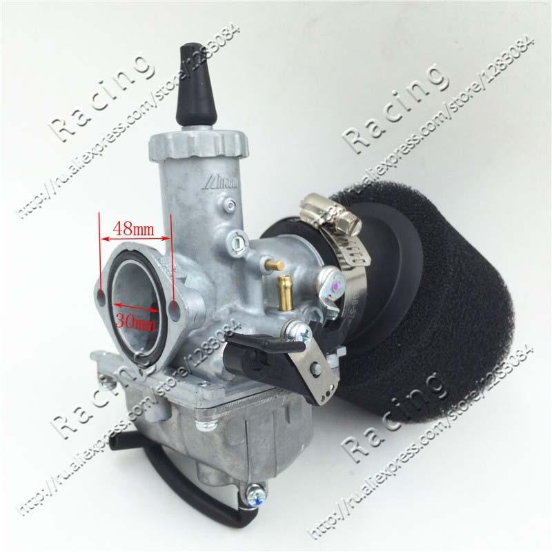 Карбюратор VM26 Carb 30 мм 42 мм воздушный фильтр для двигателя 140 куб. См 150 куб. См 160 куб. См Pitster Pro SSR Thumpstar для мотоцикла