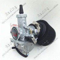 VM26 Carb 30mm Carburetor 42mm Air Filter For 140cc 150cc 160cc Engine Pitster Pro SSR Thumpstar Pit Dirt Bike Motocross