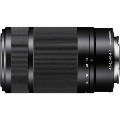 E-Mount Lens E 55-210 мм f/4,5-6,3 OSS E-Mount Lens (SEL55210) для Sony A5000 A5100 A6000 A6300 A6500 NEX6 NEX7 NEX5R NEX5T