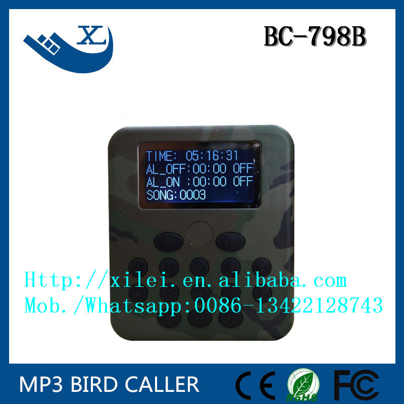 factory price bird sound mp3 downloads BC 798B 50w mp3 player with birds sound with remote controlfactory price bird sound mp3 downloads BC 798B 50w mp3 player with birds sound with remote control