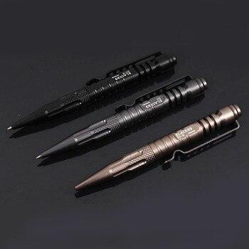 LAIX B5 Tactical Pen Self Defense Black Ink Pen EDC Tool For Military Police Weapon Aeronautical Aluminum Glass Breaker Survival