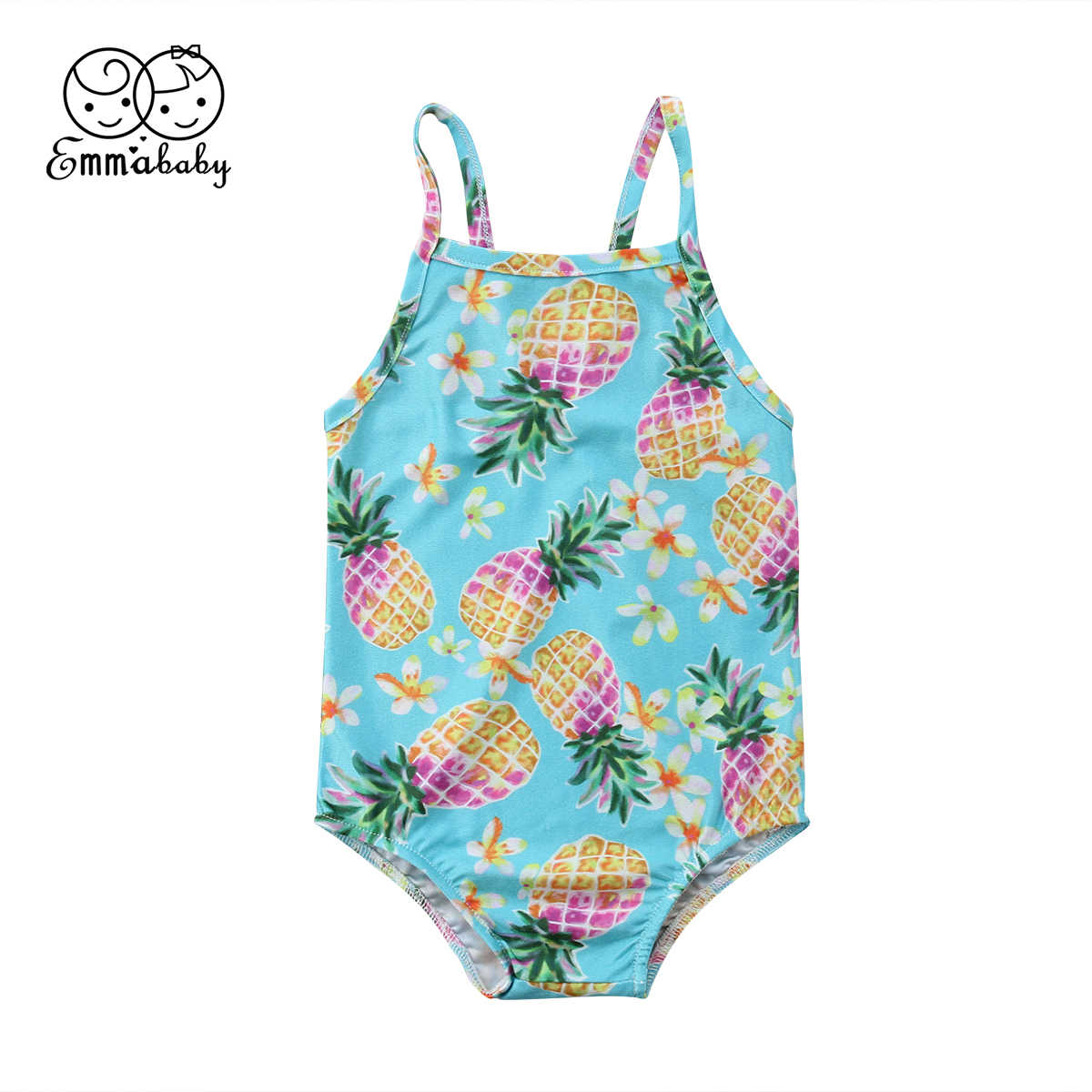 efc681628ec83 Detail Feedback Questions about 2018 Latest Children s Wear Summer Cute  Toddler Infant Baby Girl Fruit Swimwear Swimsuit Bathing Swimming Pineapple  Clothes ...