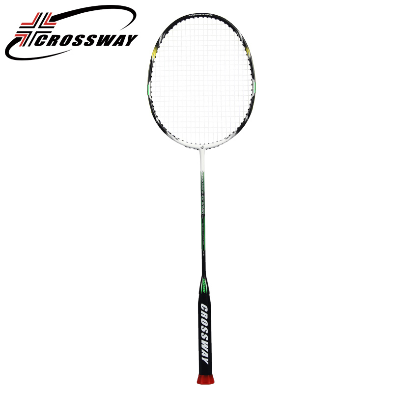 CROSSWAY new 1PC 28lbs professional amateur intermediate moderate offensive badminton racket raquette de badminton outdoor win6