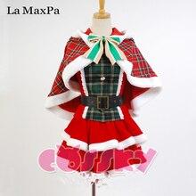 La MaxPa lovelive love live Koizumi Hanayo cosplay Navidad Año Nuevo fiesta de Carnaval Japonés anime costume girls mujeres anime