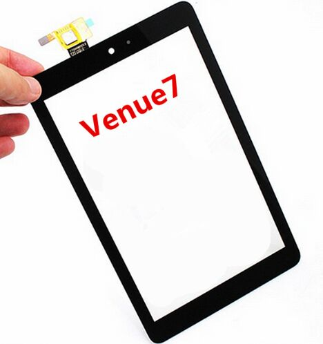 NEW 7inch Touch Screen With Digitizer Panel Front Glass For Dell T01C Venue 7 3730 free shipping 5 7inch touch gg057 industrial application control equipment touch screen digitizer panel glass free shipping