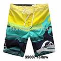 New Men's Board Shorts Surf Trunks Swimwear Twin Micro Fiber Striped Boardshorts Bathing Suit Plue Szie