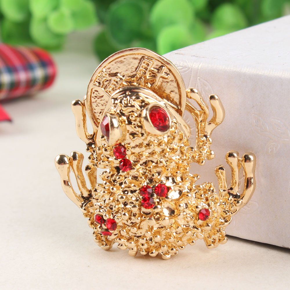 Toad Frog Plutus Coins Lovely Cute Crystal Charm Purse Handbag Car Key Keyring Keychain Party Wedding Birthday Gift