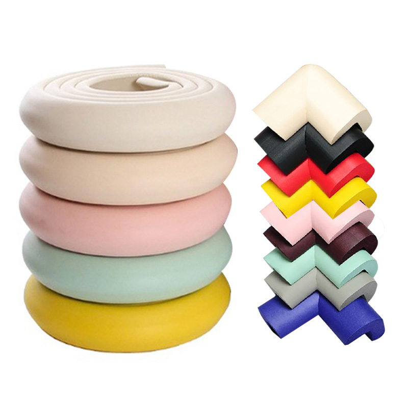 2M Baby Safety Corner Protector Children Protection Furniture Corners Angle Protection Child Safety Table Corner Protector Tape(China)