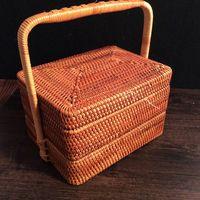 Tea Box Organizer Designs Tea Box Tin Home Storage Organization Toy Box Picnic Storage Baskets Boxes