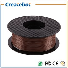 New 3d printer filament Brown PLA 1.75mm Filament1kg plastic Rubber Consumables Material for Createbot/MakerBot/RepRap/UP/Mendel