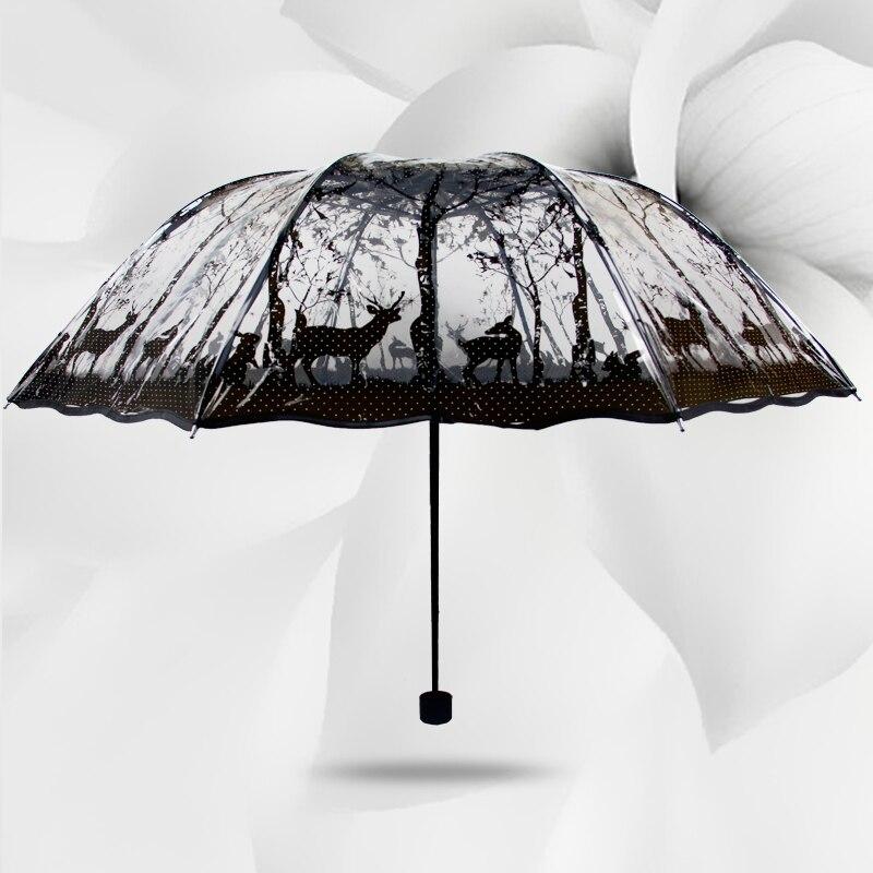 Compra paraguas plegable transparente online al por mayor de china mayoristas de paraguas - Precio de sombrillas ...