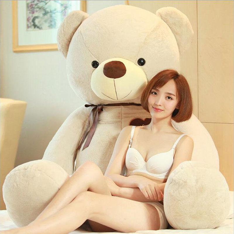 Large Stuffed Doll 160cm Teddy Bear Plush Toys Animals Bear Children's Gift Kids Stuffed Gift Plush Toys For Birthday Gift Toy giant teddy bear soft toy 160cm large big stuffed toys animals plush life size kid baby dolls lover toy valentine gift lovely