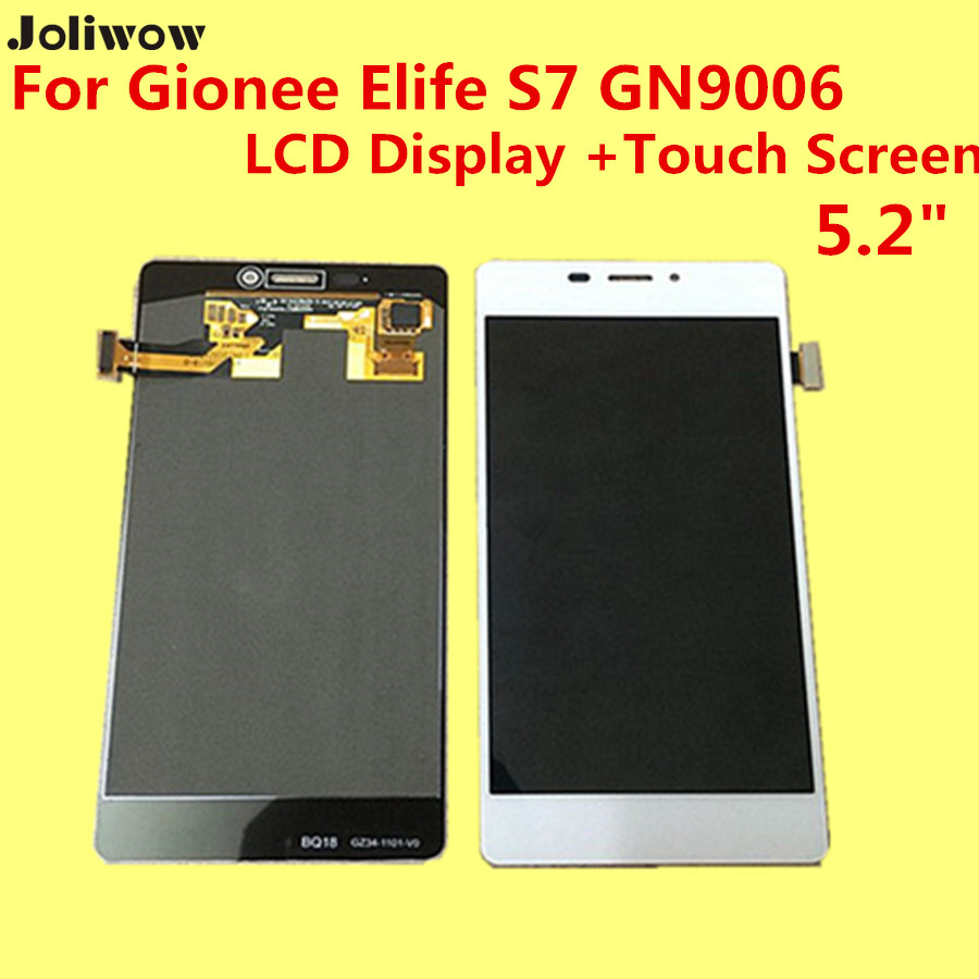De alta calidad para gionee elife s7 gn9006 lcd display + touch screen reemplazo