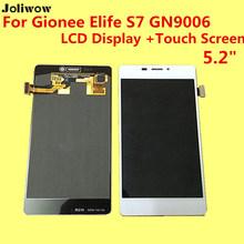 High Quality For Gionee Elife S7 GN9006 LCD Display +Touch Screen  Digitizer Assembly Replacement Accessories For Phone MT6752 for gionee elife e7 lcd screen display with black touch screen digitizer assembly by free shipping 100% warranty