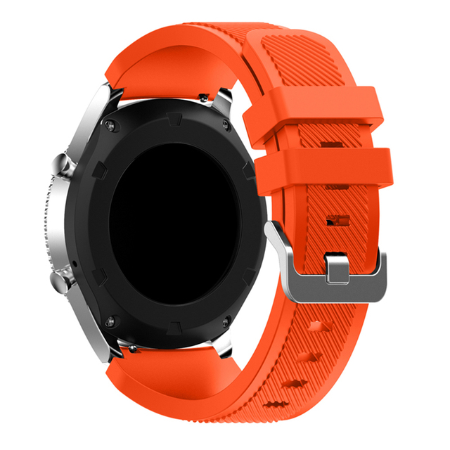 Bemorcabo 22mm Gear S3 Silicone Watch Band Bracelet Replacement Watch Wrist Stra