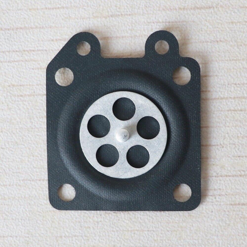 20PCS 2500 3800 4500 5200 5800 Chainsaw Carburetor Repair Parts Metering Diaphragm Gaskets