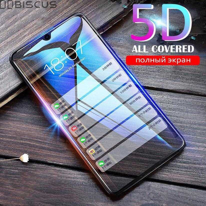 5D Full Glue Screen Protector Tempered Glass For Xiaomi Redmi Note 7 5 6 Pro Redmi 6A GO 4X 5A Protective Glass For Redmi 5 Plus