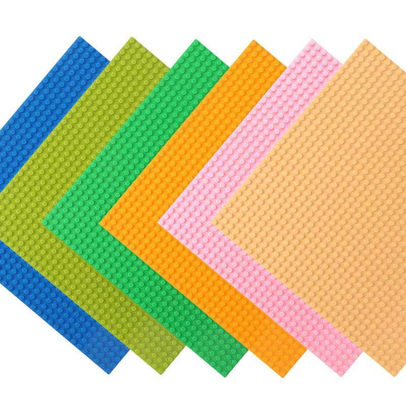 <font><b>32*32</b></font> Dots Base Plate for Small Bricks <font><b>Baseplate</b></font> Board City DIY Building Blocks Parts LegoINGLs Educational Toys for Children image