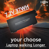 HSW Laptop Battery For Apple MacBook Air 13 A1304 A1237 Battery for laptop 020 6350 batteries A1245 MB003 MC234ZP/A battery
