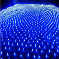7 colors  1.5x1.5m 96 Leds 8 display  modes 220V net led string light Festival Christmas  new year wedding ceremony light