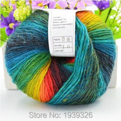 Mixed Farbe Merino Wolle Garn 3 stücke, hand Stricken Mohair Wolle ...