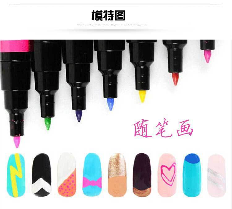 Nail Polish With Pen Tip - Creative Touch