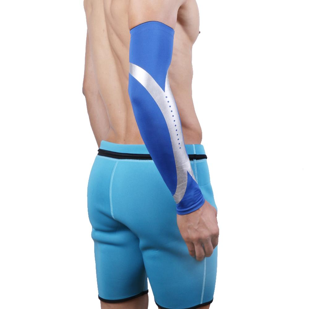 Breathable Quick Dry UV Protection Running Arm Sleeves Basketball Elbow Pad Fitness Streetwear Sports Cycling Arm Warmers