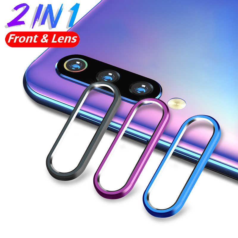 Lamorniea Metal Protection Ring For Xiaomi Redmi Note 7 Pro Lens Camera Film For Huawei P30 P20 Pro Mi 9 SE Screen Protector