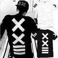 Japão Harajuku Marca Crianças t-shirt verão estilo colete Capô HBA Por PIREX ar 23 rua hip hop t camisa menino roupas esporte DC628