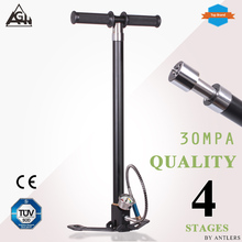 AGH 30Mpa 4500psi Air PCP Paintball Pump Air Rifle hand pump 4 Stage High pressure with filter Mini Compressor bomba  not hill pcp 30mpa electric air compressor pump high pressure system rifle