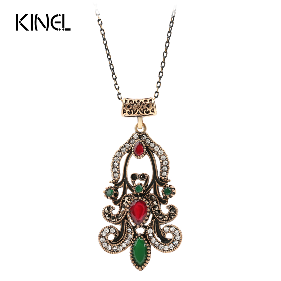 vintage indian jewelry fashion pendant necklace for